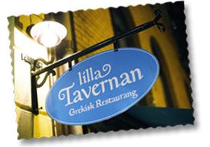 Greek restaurant Lilla Tavernan in Gothenburg